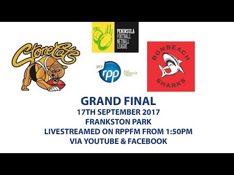 MPNFL Grand Final 2017 FRANKSTON YCW V BONBEACH - PENINSULA