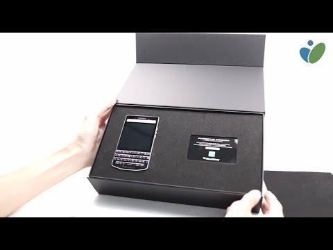 Đập hộp BlackBerry Porsche Design P'9983