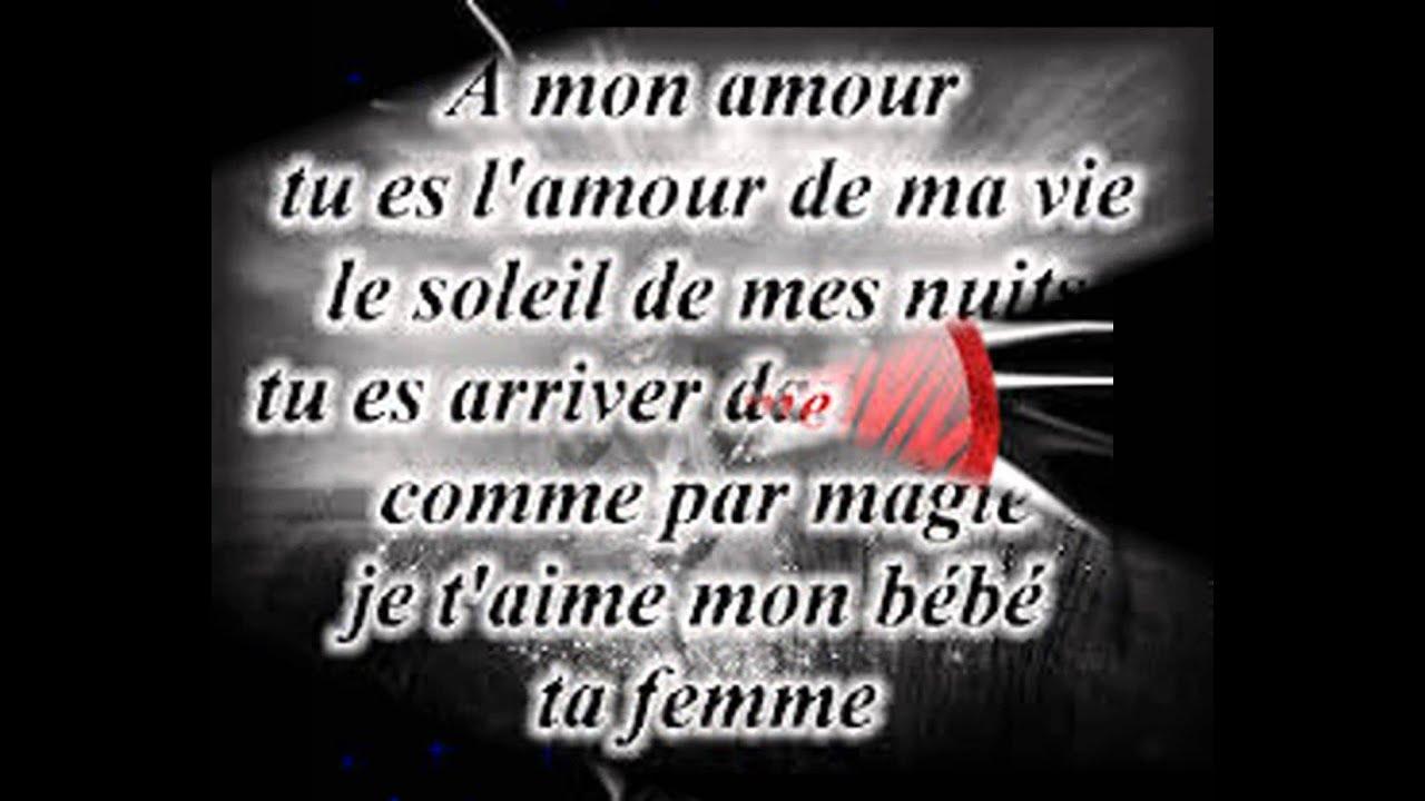 Déclaration Damour Pour La Femme De Ma Viegege