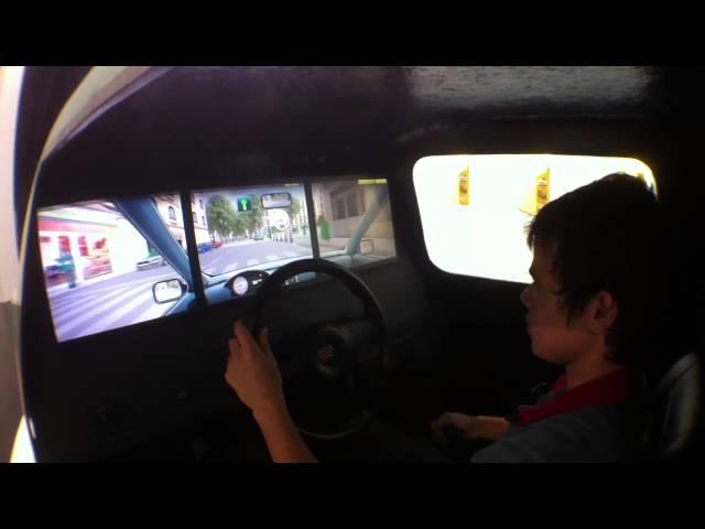 Simulador de Carro Real Direção Eficiente - Petrobras no Salão do Automovel HD