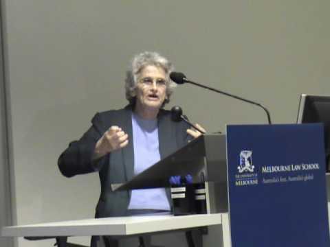 Ruth Gavison - Israel as a Jewish State (Melbourne Law School)