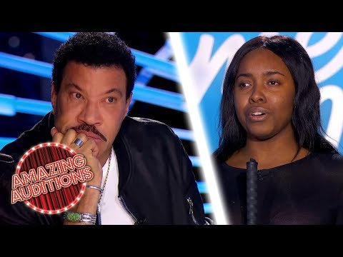 Blind Contestant Gives EMOTIONAL Audition Of Andra Day's 'Rise Up' | Amazing Auditions