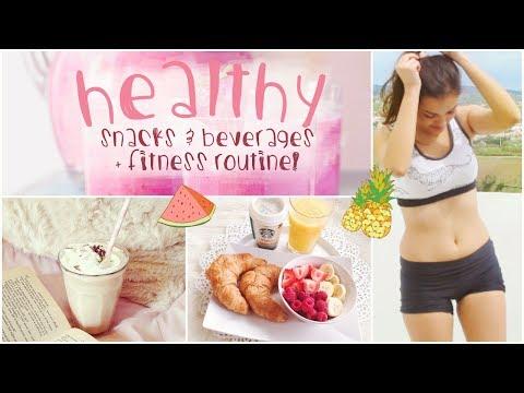 Healthy Snacks/Beverages + Fitness!