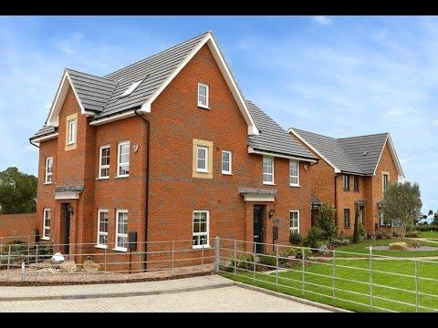 Barratt Homes - The Hexham @  Fairfields Milton Keynes, Buckinghamshire By Showhomesonline