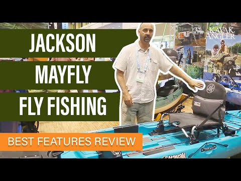 Jackson's New Mayfly Fly Fishing Kayak | Kayak Angler | Rapid Media