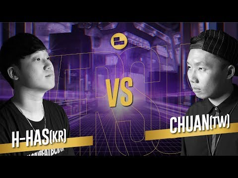 H-has (KR) Vs Chuan (TW)|Solo Top 8 Asia Beatbox Championship 2019