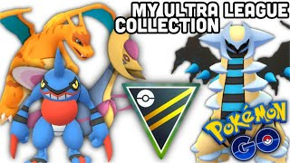 My Ultra League Collection in Pokemon GO | Cresselia power up | The best Ultra Meta Pokemon Season 2