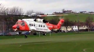 Irish Coastguard Rescue 116 taking off!!