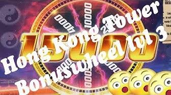 Online Casino Slots - Hong Kong Tower - Low bet Big Win - Freispiele - Bonuswheel lvl 3