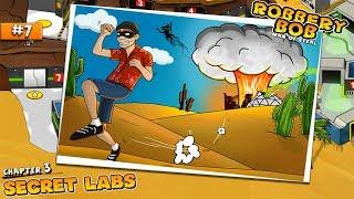 - Robbery Bob - Walkthrough part 7 Secret Labs | Г...