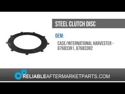 676833R2 IH 500C or 500E Dozer Steel Steering Disc