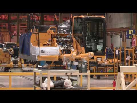 The Komatsu UK Factory Tour - Assembly Line
