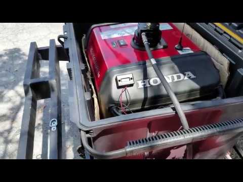 Installed a Remote Start and Extended Fuel Tank On My Honda EU3000is Generator