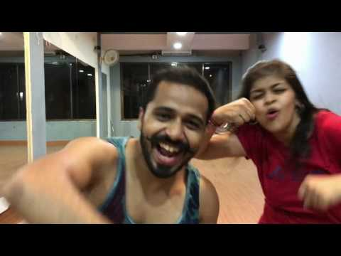 Tamma Tamma Again- Zumba with Prasad Wadekar and Manasi Pradhan