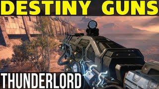 Destiny News - Thunderlord, Exotic Heavy Machine Gun! Dangerous to Owner?