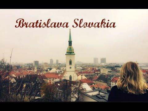 Bratislava Travel Vlog  | Christmas Markets & Castles