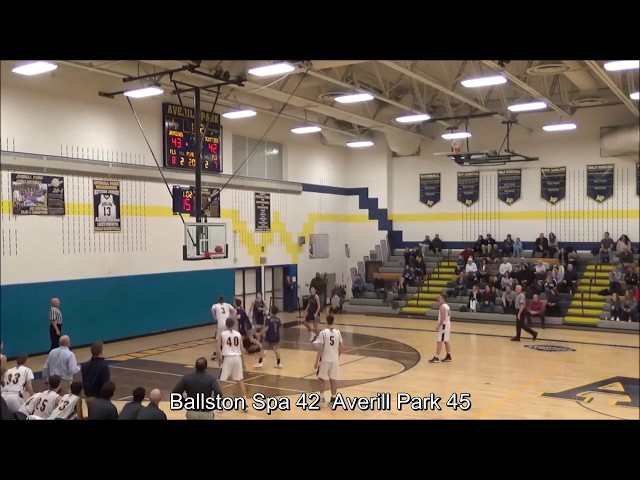 Game Highlights Boys' Varsity: Ballston Spa 44 vs Averill Park 51 (F)