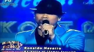 eat bulaga ka voice ni idol james ingram ronaldo navarro september 28 2013