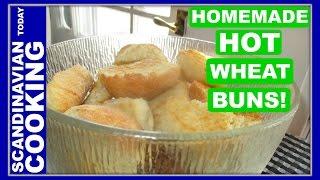 Varme Hveder - Danish Hot Wheat Buns