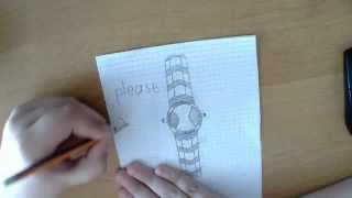 how to draw a cool omnitrix!