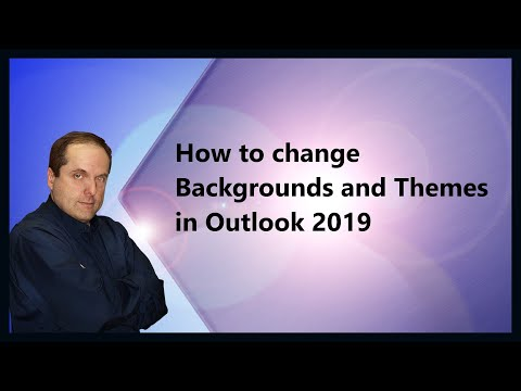 How to change font color in reading pane outlook 2020
