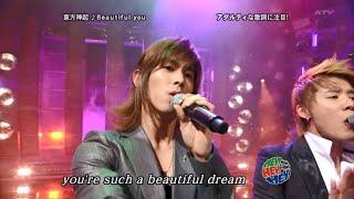 동방신기) 'Beautiful You' HEY!HEY!HEY! LIVE [KOR/JAP/ENG SUB]