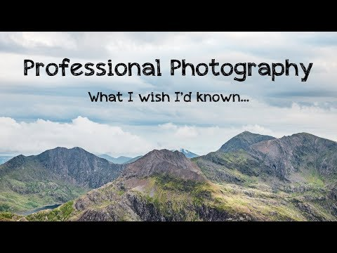 Professional Photography: 9 things I wish I'd known...