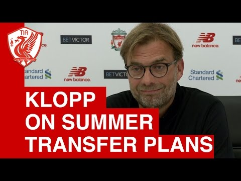 Jurgen Klopp on Champions League and Liverpool's transfer plans