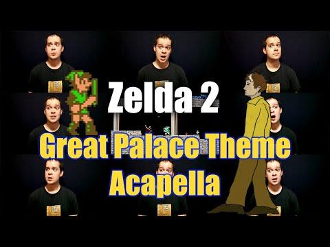 Zelda 2 Great Palace Theme Acapella - Jaron Davis