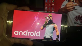 TÉLÉCHARGER FORTNITE SUR GALAXY S7 !