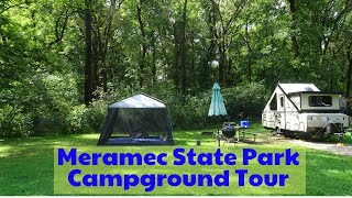 Meramec State Park Campġround - Park Travel Review