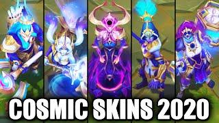 All New 2020 Cosmic Skins Spotlight (League of Legends)