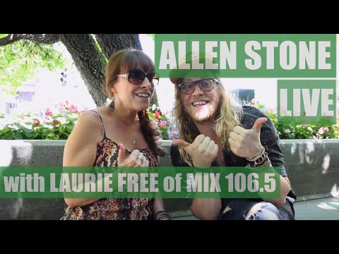 Allen Stone With Laurie Free - Afternoons on Mix 106.5