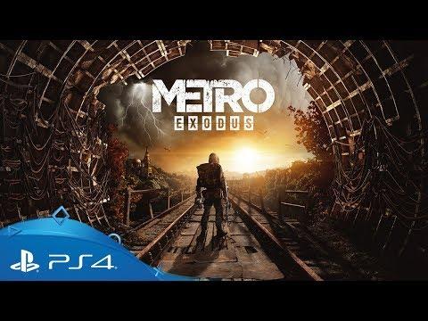 Metro Exodus   Gamescom 2018 Gameplay Trailer   PS4
