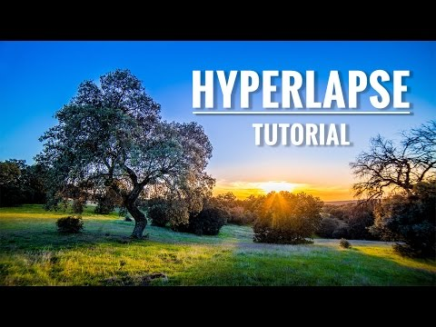 Cómo hacer un HYPERLAPSE