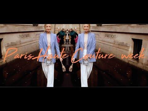 VLOG: PARIS HAUTE COUTURE FASHION WEEK! / Part 1