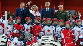 В Москве открылся новый Крытый ледовый каток ЦСКА