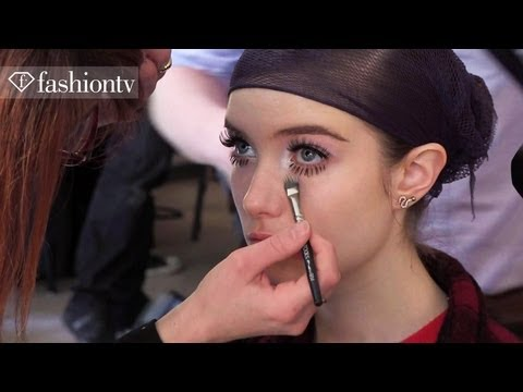 Maxine Simoens Fall/Winter 2013-2014 BACKSTAGE | Paris Fashion Week PFW | FashionTV