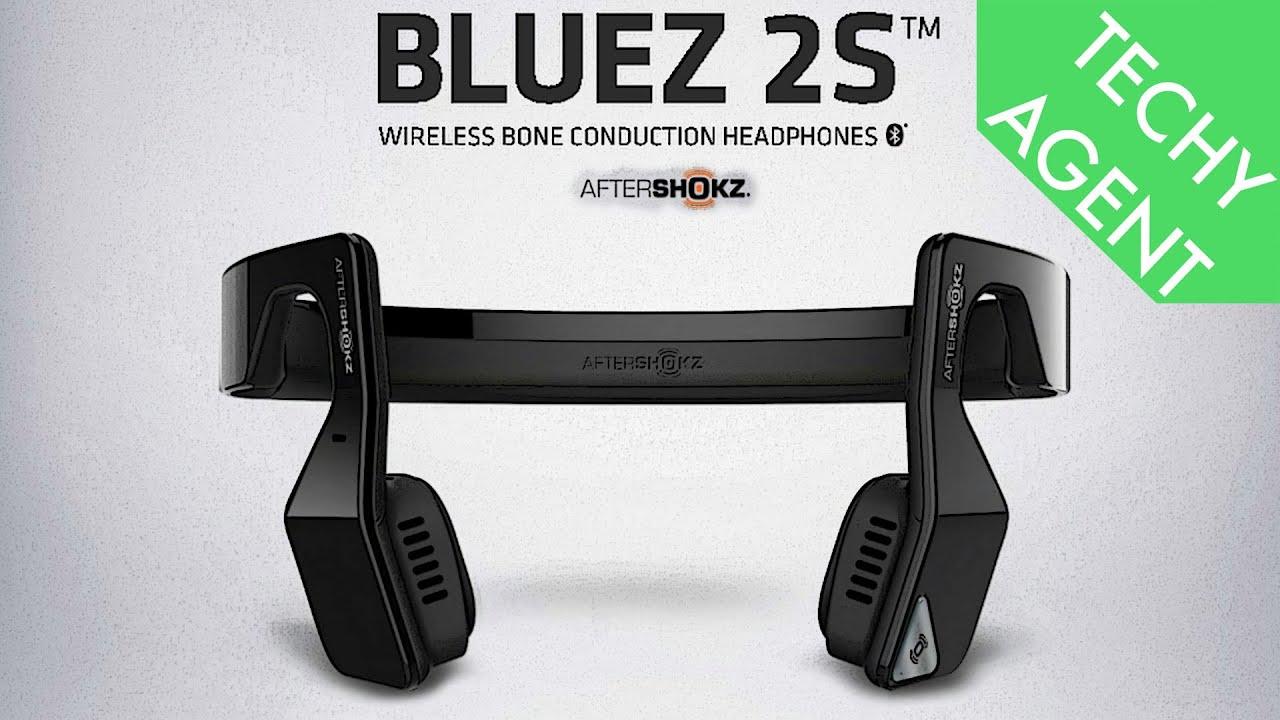 78781f31a5b AfterShokz Bluez 2S Bone Conduction Headphones - REVIEW - YouTube