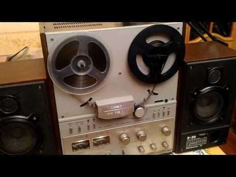 Союз 110 с колонками Radiotehnika S-30