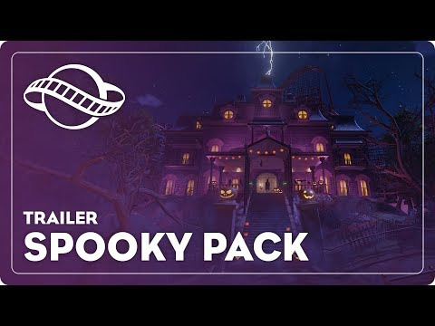 Planet Coaster Spooky Pack OUT NOW