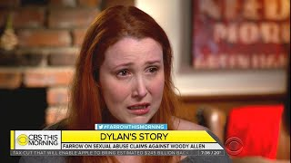 Dylan Farrow Breaks Down After Detailing Woody Allen Sexual Assault Allegations