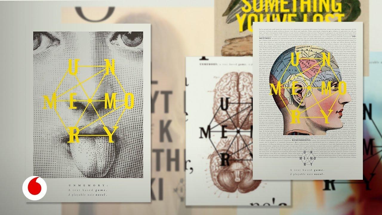 Unmemory, un juego que se lee... o una novela que se juega