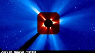 Comet Ikeya-Zhang Sun Conjunction 4/7/2002