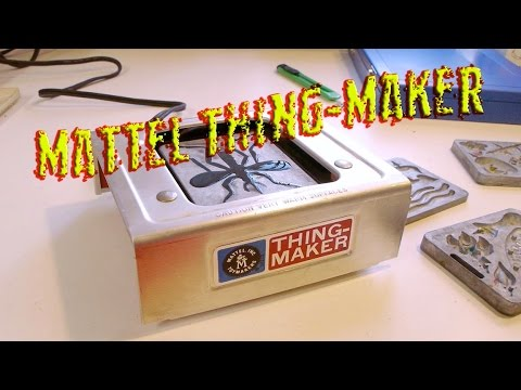 Mattel Thingmaker and some odd casting machings
