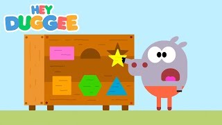 The Shape Badge - Hey Duggee Series 2 - Hey Duggee