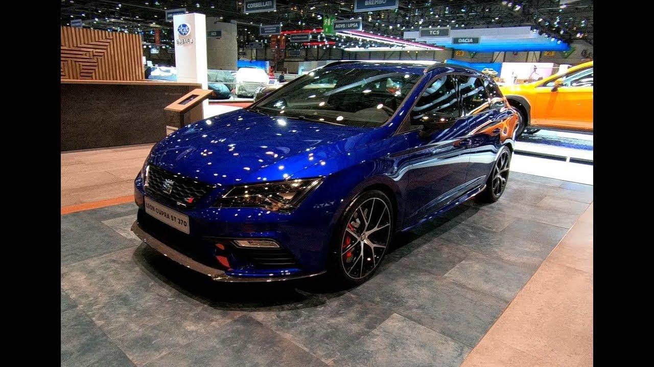 seat leon cupra st 370 4drive abt mystery blue new model