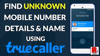 How to Find Unknown Mobile Number Details & Name using Truecaller screenshot 4