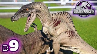 SPINORAPTOR RAMPAGE!!! - Jurassic World Evolution - Secrets of Dr.Wu | Ep9 HD
