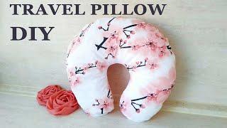 DIY Travel Pillow | How to Make Neck Pillow